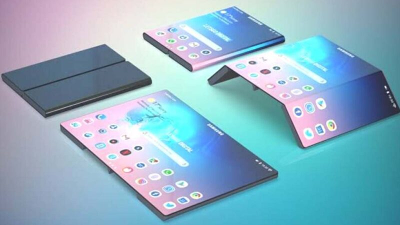 Samsung is working on a double-folding phone, fold into three segments