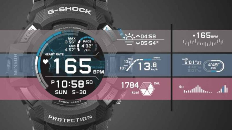 Casio announces the first OS smartwatch in G-Shock design