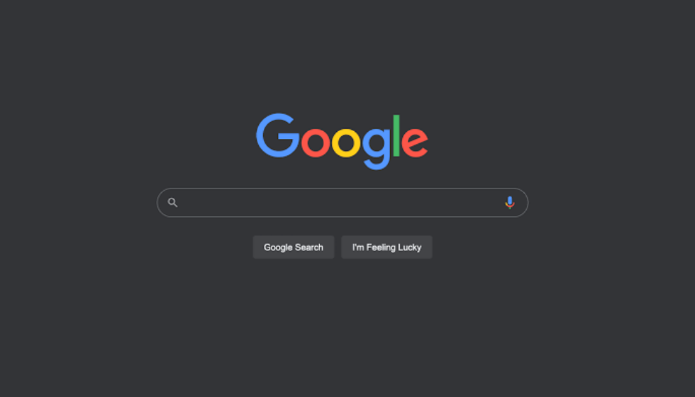 Google Search Dark Mode feature for Desktop is rolled out