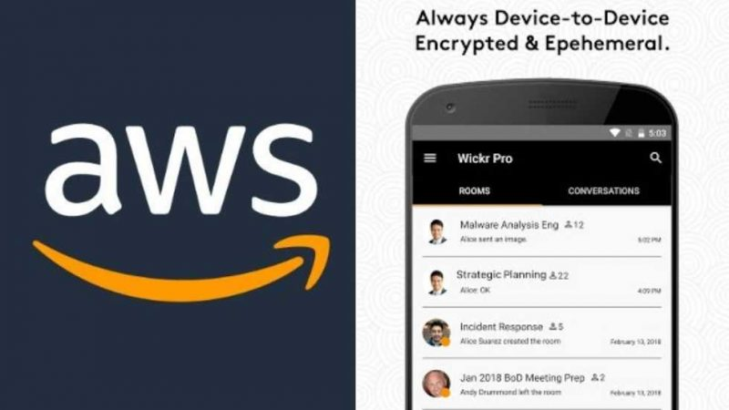 Amazon's AWS has acquired Wickr, the encrypted messaging app