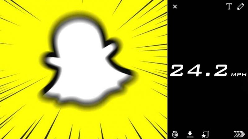 """Snapchat removes its """"SPEED"""" filter due to some law issues"""